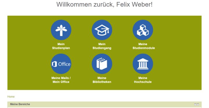 Slide Virtueller eCampus: Das Campusleben an der Mobile University