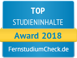 Top Studieninhalte 2018